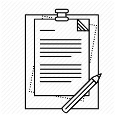 Pencil Clipart Clipart Paper Pencil Text Transparent