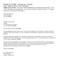 Thank You Letter After Interview Email Example Part 14 D6xh9 Thank