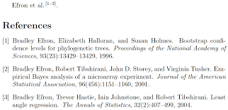 Bibliographies Bibtex Citation For Multiple Papers Of Two More