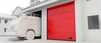 crawford garage doorsSectional industrial door  aluminum  insulated  for public