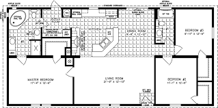 manufactured home floor plan the imperial model imp 45616b 3 bedrooms