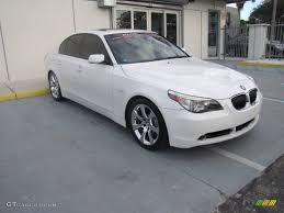 BMW 5 Series 2005 bmw 5 series 545i : 2005 Alpine White BMW 5 Series 545i Sedan #60973580   GTCarLot.com ...