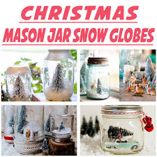 Ideas For Decorating Mason Jars For Christmas Mason Jar Crafts DIY Tutorials Cookie Mixes Oil Lamps Solar Jar 33