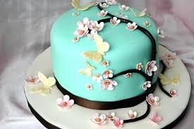 Flower Birthday Cakes Luxury Elegant Birthday Cakes For Women Simple