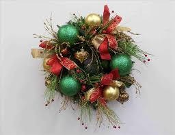 Red Green And Gold Christmas Decorations Cheminee Website