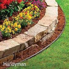 the best garden bed edging tips the