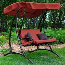 c coast ginger cove 2 person adjule tilt metal canopy porch swing light bronze hayneedle