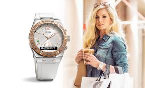 welcome guess watches answer incoming calls the guess connect smartwatch