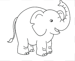 Baby Elephant Coloring Free Download Printable Pages