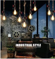 steampunk pendant lights steampunk chandelier rope lamp loft retro industrial vintage steampunk water pipe colorful pendant