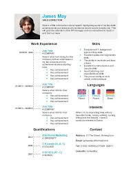 Ms Word Template Resume Free Timeline Cv Resume Template In Microsoft Word Docx