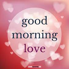 good morning es for your husband