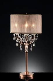 table lamp chandelier style luxury table lamps amazing crystal chandelier table lamps home design