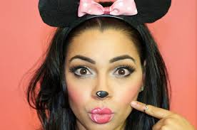 makeup minnie mouse