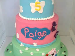 Peppa Pig Cake This Was Made For A Little Girl Through Operation