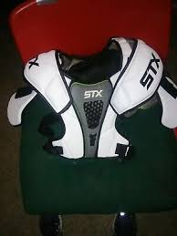 Stx Cell 3 Shoulder Pad Size Chart Stx Impact Lacrosse Shoulder Pad Medium Black 34 16