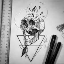геометрия от At Leandroamaraltattoo What Inspires Me эскиз тату