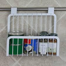 office hanging organizer. Kitchen Cabinet Hanging Rack Iron Shelves Wire Basket Storage Organizer Closet Office White Holder-in Holders \u0026 Racks From A