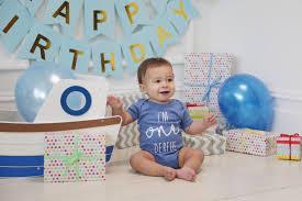 blue first birthday bodysuit 2