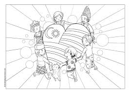 Small Picture PATRIOTIC COLOURING PAGE MALAYSIA PERFECT FOR NATIONAL