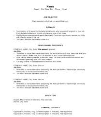 How To Write A Great Resume Extraordinary Writing A Good Resume Example Arzamas