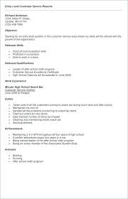 What Does A Good Resume Look Like New Samples Of Resumes For Customer Service Resume Customer Service