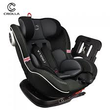 crolla s 360 isofix car seat 0 7 years free car seat protector