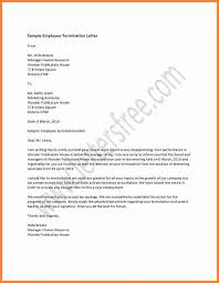 job termination letters 11 employment termination notice sample notice letter