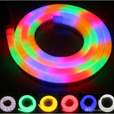 2018 new arrival led neon sign flex rope light pvc led light strips indoor outdoor led flex disco bar pub party decoration from cnmall