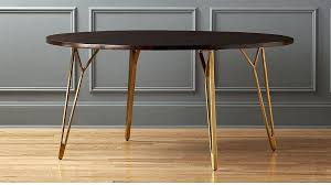 cb2 round table dial dining table