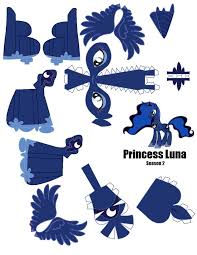 princess luna papercraft template pg by flip cob on princess luna papercraft template pg 1 by flip cob