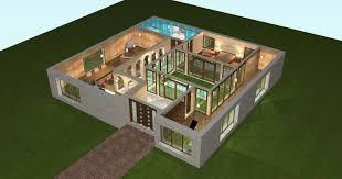 Plan Maison 3d Gratuit En Ligne Faire Le De Sa Des Newsindo Co Id Es G
