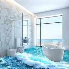 brilliant 3d bathroom tiles ocean waves 3d bathroom toilet bathroom tile ocean floor tiles