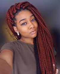 Light Red Box Braids 35 Stunning Crochet Box Braids Hairstyles For Inspiration