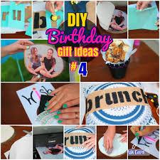 diy easy birthday gift ideas for friends