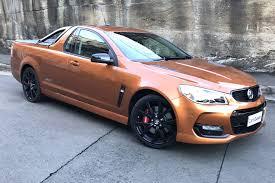 Vf Commodore Colours Chart Holden Ssv Redline Ute 2017 Review Carsguide
