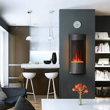napoleon azure vertical electric fireplace 38