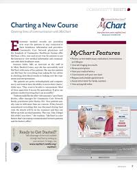 St Mary S Hospital Hobart My Chart Vim Vigor Spring 2014 Community Healthcare