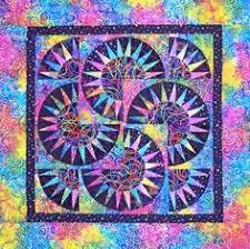 New York Beauty Batik Wall Quilt. | Quilts | Pinterest | Walls ... & New York Beauty in a New York Minute by Peggy Martin. Workshop, AQS - Adamdwight.com