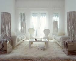 white fur rug. luxurious villa roxie with great architecture in miami: white fur rug cool coffee table sophisticated