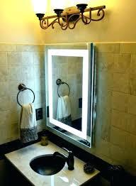 wall mounted makeup mirror brushed nickel wall