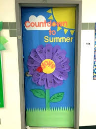 spring classroom door ideas summer decorations for