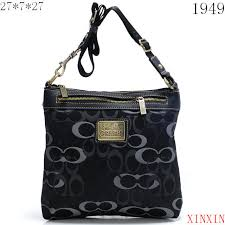 Coach Legacy Swingpack In Signature Large Black Crossbody Bags AVL   Cheap  Coach Outlet Online - Genuine Coach Handbags Sale