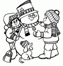 Awesome Snowman Printable Coloring Pages with regard to Motivate ...