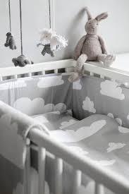 cot bed duvet set grey