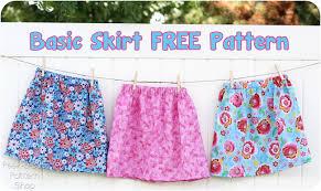Peek A Boo Patterns Amazing Free Skirt Pattern PeekaBoo Pages Patterns Fabric More