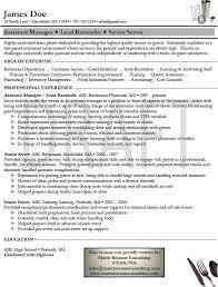 Bartender Resume Template Download Sample Resume Resume Templates