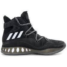 adidas basketball shoes white. adidas men\u0027s crazy explosive boost core black/white basketball shoes b42421 white
