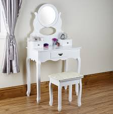 shabby chic dressing table and stool by abreo