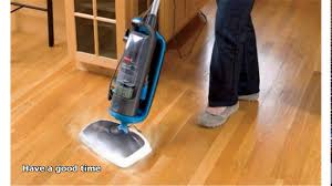 >steam cleaning hardwood floors youtube
